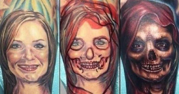 Avant / Après 16 tatouages faits par amour et modifiés après leur rupture  \u2013 Topibuzz