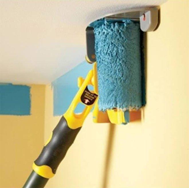 Comment peindre ses murs sans toucher le plafond