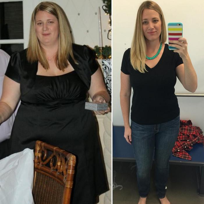 cette jeune maman a perdu 40 kilos en 10 mois sans se priver d aliments gras son secret. Black Bedroom Furniture Sets. Home Design Ideas