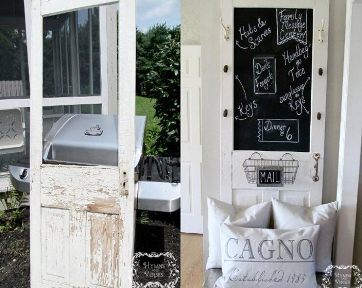 elle s est procur une vieille porte moustiquaire et l a install e dans son salon le r sultat. Black Bedroom Furniture Sets. Home Design Ideas