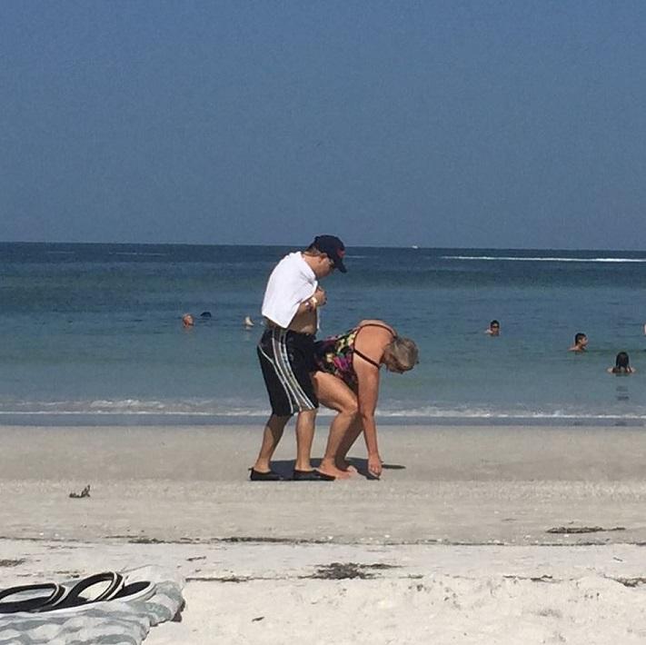 sur-une-plage